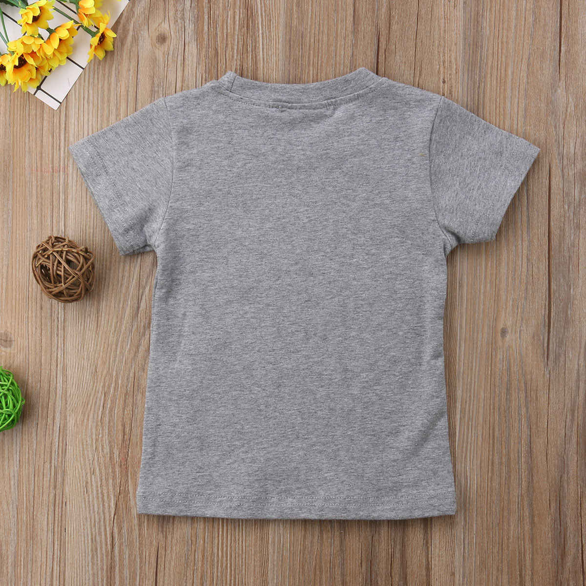 f90b6a619 ... Kids Baby Girl Boy Love Daddy Mama Tops T-shirts Graphic Tee Clothes  Summer ...