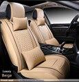 Cuero Del asiento de Coche especial cubre para Land Rover Range Rover evoque Freelander descubrimiento Del Asiento de Coche Cubierta de asiento Delantero y Trasero completo