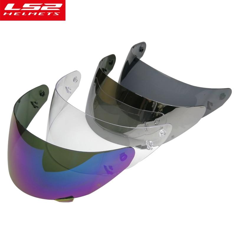 LS2 FF352 full face motorcycle helmet visor replacement face shield LS2 FF351 FF384 FF369 helmet visor original LS2 VISOR Helmets     - title=