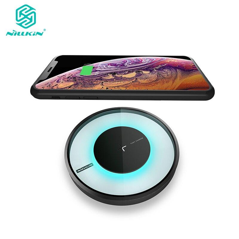 NILLKIN Magia disk 4 veloce caricabatterie Wireless per il Samsung Galaxy S9 S8 Più Qi Pad di Ricarica per il iphone Xs Max xr per Xiaomi Della Miscela 2 s