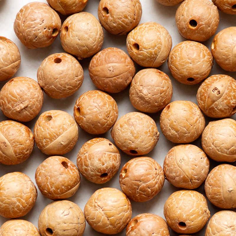 50 pçs natural bodhi grânulos reais nepal phoenix olho bodhi sementes 13-15mm tsb0432