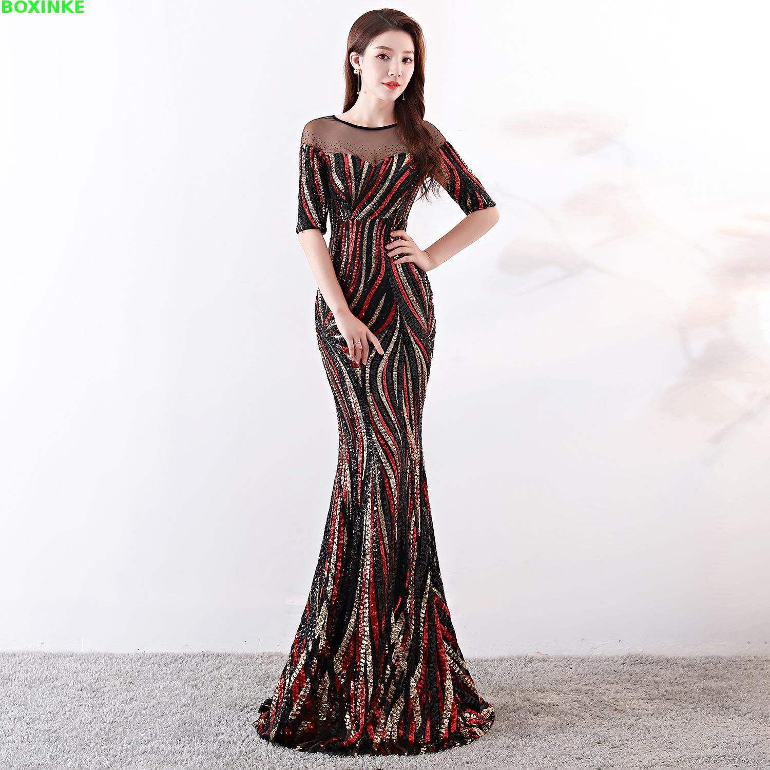30fd516207 Detail Feedback Questions about Vestidos Mujer Half Mesh Lanon Special  Offer Vadim Zanzea Maxi Dress Autumn 2018 New Party Sexy Nightclub Sequins  Long ...
