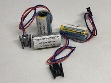 MasterFire 10pcs/lot New Original ER17330V ER2/3A 17330 3.6V ER17330V/3.6V PLC Battery Batteries Servo A6BAT PLC Battery new original cj2m cpu15 plc cpu units 60k steps