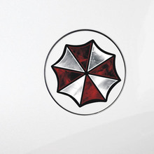 цена на Umbrella Car Stickers and decals Car styling Reflective decoration for Toyota Chevrolet cruze Volkswagen skoda Hyundai Kia Lada
