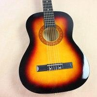 38 Акустическая классическая Гитары 38 12 Гитары ra Музыкальные инструменты с гитарные струны