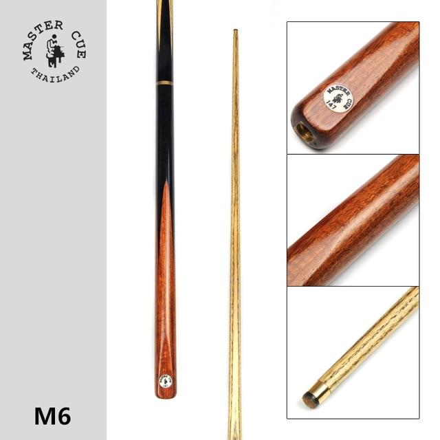 все цены на Import Master Snooker cue, Model M6, Cue Length 145cm, Cue Tip 9.5mm, Ash Wood Shatf, Handmade 3/4 Billiard Cue Free shipping онлайн
