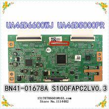 S100FAPC2LV0.3 good test Original S100FAPC2LV0.3 Logic board connect with LTF460HN01 LTF400HM03 LTA460HM05/3 T-CON connect board 460hsc6lv1 5 logic board lcd board for klv 46x200a kdl 46xbr2 t con connect board
