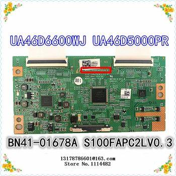 S100FAPC2LV0.3 good test Original S100FAPC2LV0.3 Logic board connect with LTF460HN01 LTF400HM03 LTA460HM05/3 T-CON connect board latumab 100% original t con board for sharp cpwbx runtk 5538tp za zb zz logic board