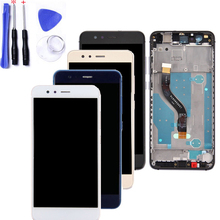 With Frame 5.2 For HUAWEI P10 Lite WAS-LX1 WAS-LX1A WAS-LX2 WAS-LX3 LCD Display Screen Touch Ditigizer Assembly