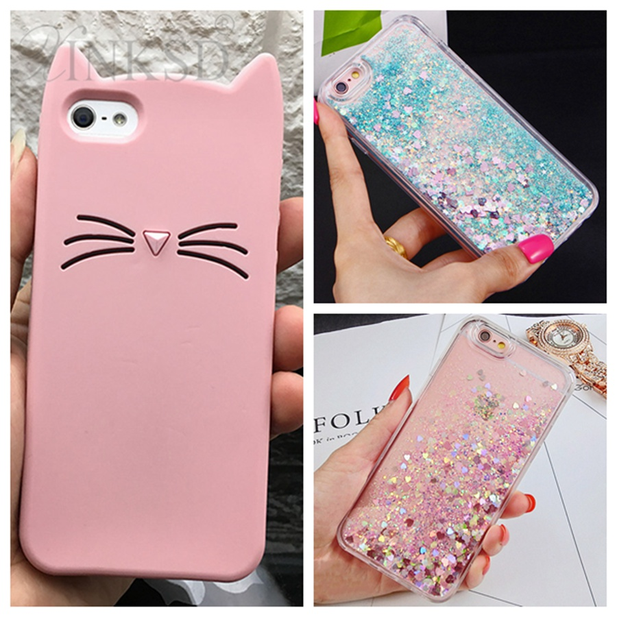 5G S case For Apple iPhone 5 5S Cases 3D Cartoon Animal