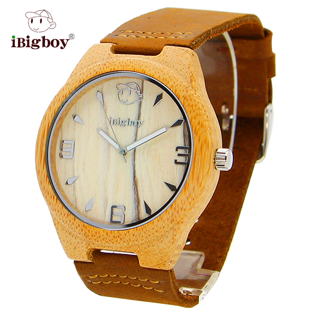 Zegarek bambusowy iBigboy unisex trend