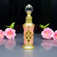 10ml Miniature Decorative Emtpy Glass Bottles For Arabic Perfume Oil Fragrance High Quality Glass Dropper Bottle