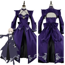 FGO Fate Grand Order Saber Cosplay Costume Alter Stage 3 Dress Cosplay Costume For Halloween Carnival Party