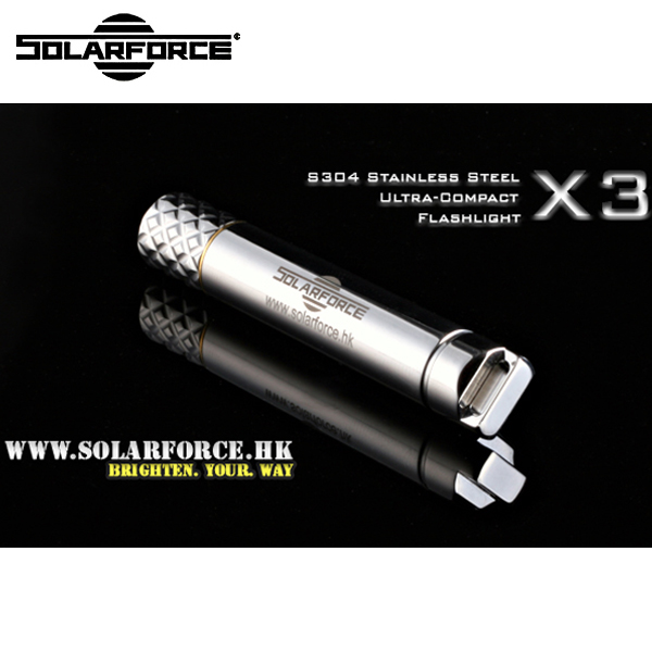 Punctual Solarforce X3 Cree Xp-e R4 Led 1-mode 50 Lumens Flashlight (1 X Aaa) Attractive And Durable