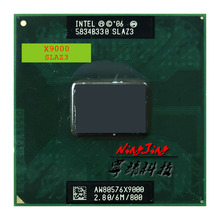 Procesador Intel Core 2 Extreme X9000 SLAQJ SLAZ3 2,8 GHz Dual Core Dual Thread CPU 6M 44W Socket P