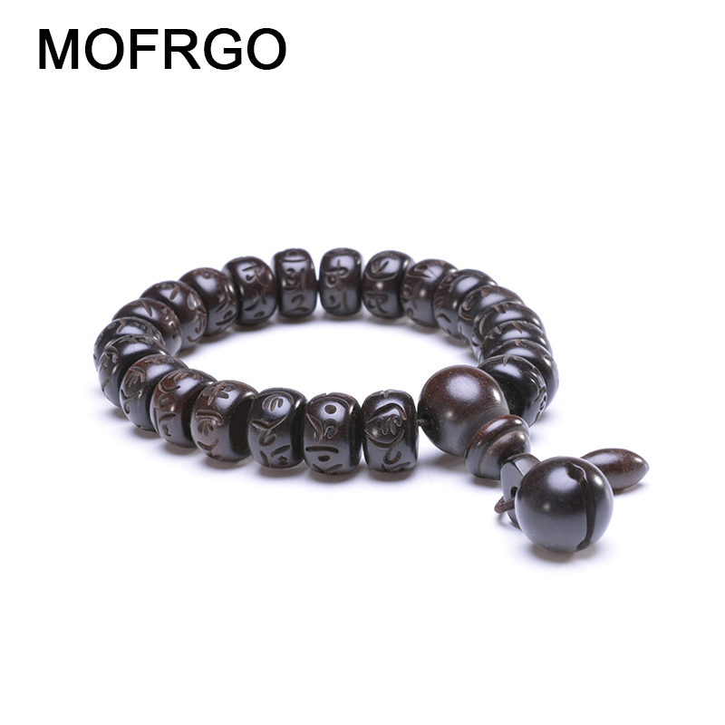 Tibetan Buddhist Mala Buddha Bracelet Natural Wood Bead Bracelet OM Meditation Yoga Prayer Bracelets For Men Women Jewelry Gift bracelet