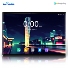 CIGE N9 Tablet PC 4G Lte Octa Core Google Play kids tablette enfant 6GB RAM 64GB ROM WiFi GPS tablet 10.1 inch android 8.0 10