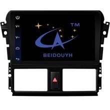 BEIDOUYH 10.2 inch Android Car GPS Navigation for TOYOTA VIOS/Yaris 2016 Mirror Link/DVR/rear view cam car radio navigator gps
