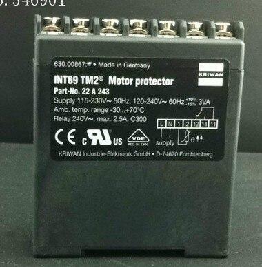 [SA] Germany KRIWAN INT69TM2 compressor motor motor protection[SA] Germany KRIWAN INT69TM2 compressor motor motor protection