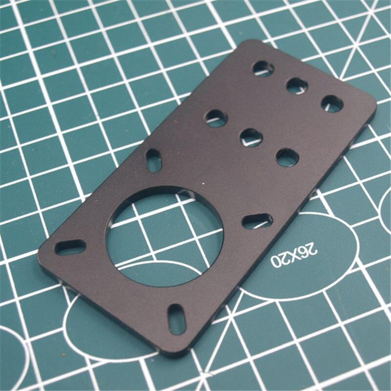 1pcs Anodized Aluminum Motor Mount Plate NEMA 17 Stepper Motor for Reprap 3D printer openbuilds builds parts