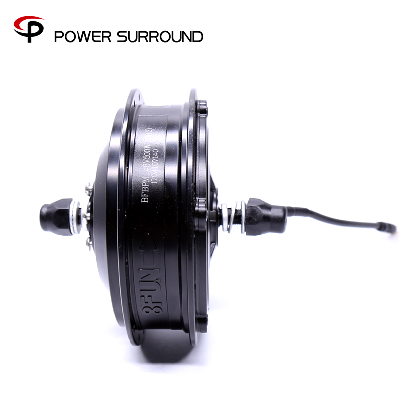 8fun bafang e bike motor 48V500W front brushless high speed hub motor electric wheel powerful electric
