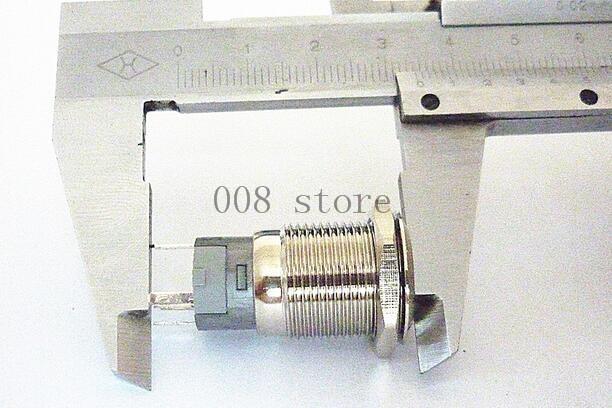 do metal de 16mm lampada conduzida 02