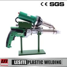 Lesite HDPE sheet extrusion welding machine hand extruder gun