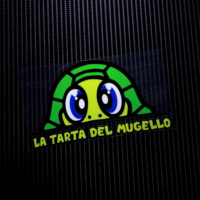 Tl035 adesivo reflective vr 46 tortoise turtle valentino rossi car stickers decals motorcycle racing