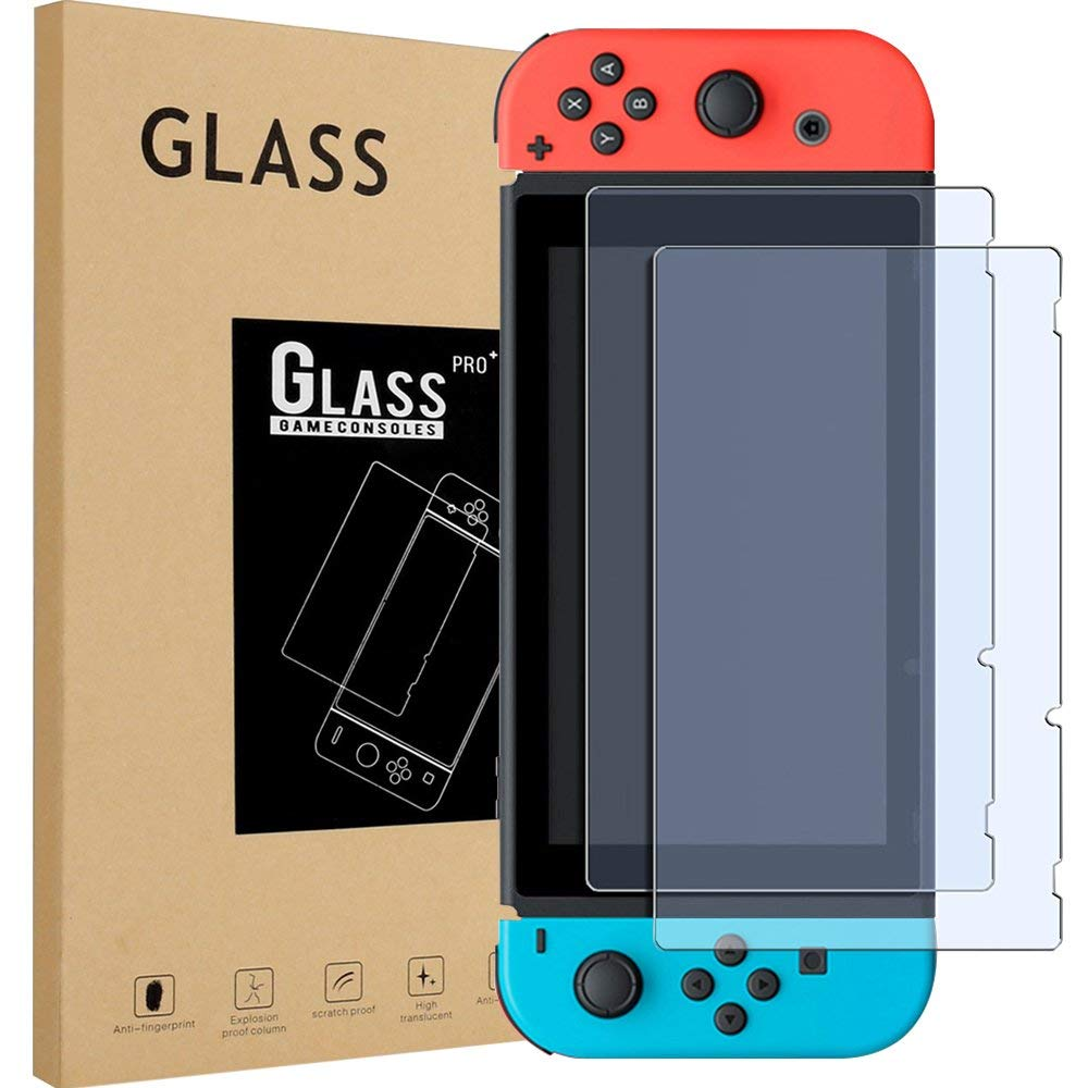Jeebel 9H Tempered Film Glass Screen Protector Eye Protection For Nintend Switch Screen Protector Nintend Switch Accessories 2sets lcd screen protectors guard film for nintend 2ds clear touch protect protective top bottom seal film for nintend 2ds