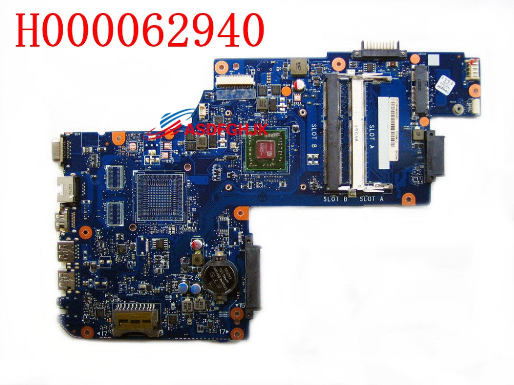 Genuine H000062940 <font><b>FOR</b></font> <font><b>Toshiba</b></font> <font><b>Satellite</b></font> C50D <font><b>C55D</b></font> LAPTOP <font><b>MOTHERBOARD</b></font> WITH CPU 100% TESED OK image