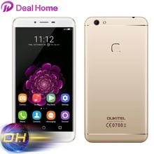 "5.5 ""IPS Oukitel U15S 4G téléphone portable 4G RAM + 32G ROM MTK6750T Octa Core Smartphone Android 6.0 empreinte digitale 16MP 8MP téléphone portable"