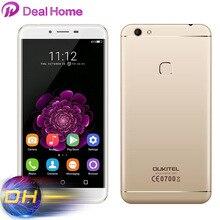 "5.5 ""ips oukitel u15s 4g telefone móvel 4g ram + 32g rom mtk6750t octa núcleo smartphone android 6.0 impressão digital 16mp 8mp celular"