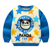 2019 Newborn Baby Cute Sweatshirt Hoodie Cartoon Panda Top Toddler Hoodies Winter Warm Autumn Baby Boy Girl Clothing Sweat Fille cheap HI JUBER Polyester Cotton Without European and American Style 19F064 O-Neck Regular Unisex Fits true to size take your normal size