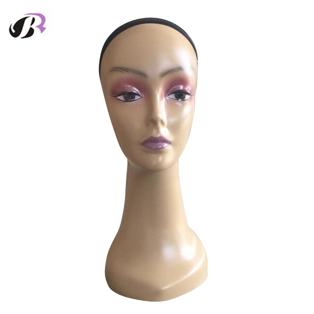 Free Shipping Female Realistic African American Mannequin Manikin Dummy Head For Wig/Hat/Hair/Jewellery Display Mannequin Head mannequin head african american afro hair with manikin for practice styling braiding