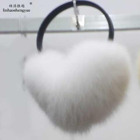 Linhaoshengyue The Fox Fur Cover Their Ears
