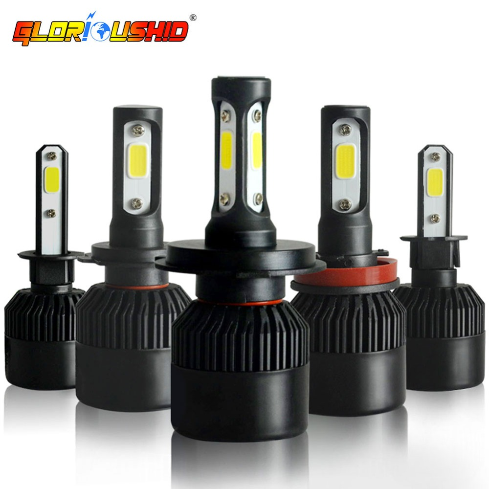 One Pair H4 Led Bulb H1 H11 H7 H3 H8 HB4 HB3 H27 881 9005 Car Led Headlight Bulbs 72W 8000LM Auto Headlamp 6000K Car LightOne Pair H4 Led Bulb H1 H11 H7 H3 H8 HB4 HB3 H27 881 9005 Car Led Headlight Bulbs 72W 8000LM Auto Headlamp 6000K Car Light