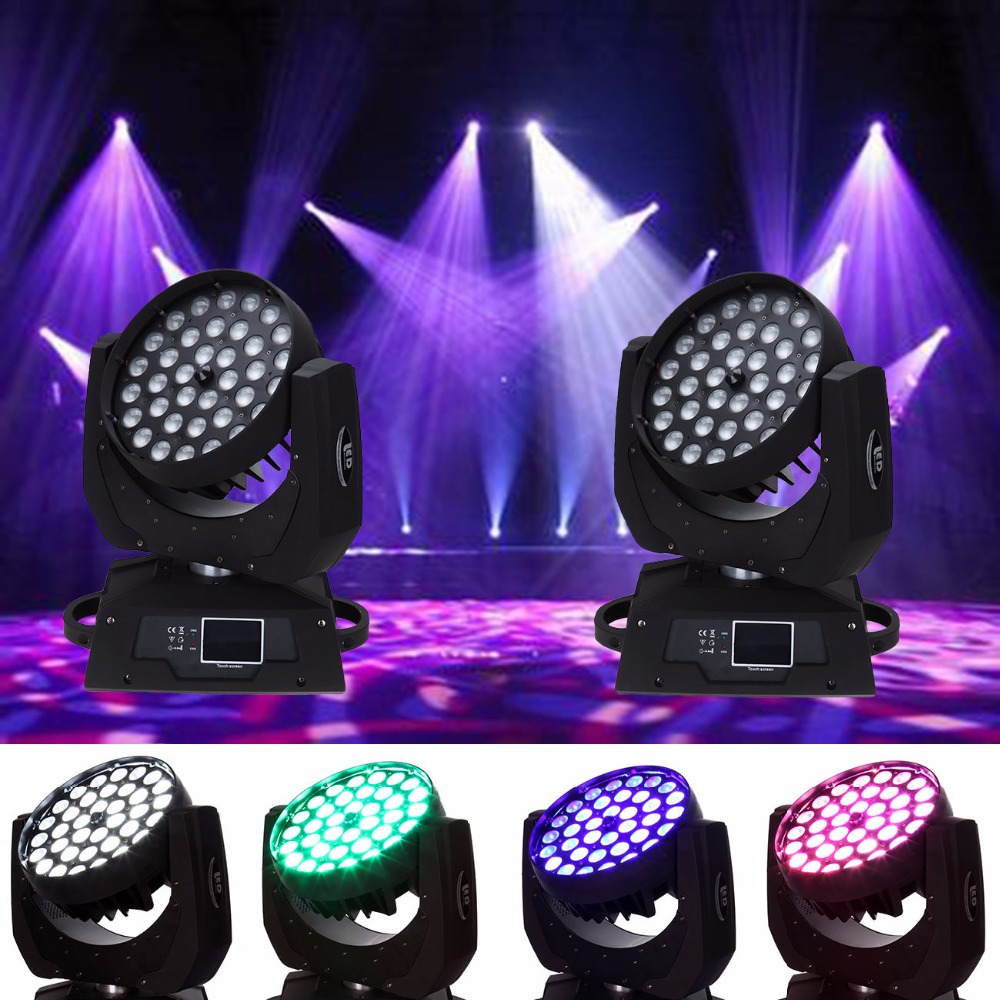 (Shipping from US) 2Pcs 360W RGBW 4in1 LED Zoom Moving Head 36x10W Wash Light DMX Stage Show Party significant pharmaceuticals reported in us patents