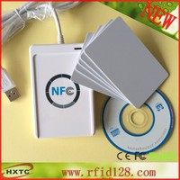 ACR122U 13 56 Mhz USB NFC RFID Contactless Smart Card Reader With Free SDK And 5pcs