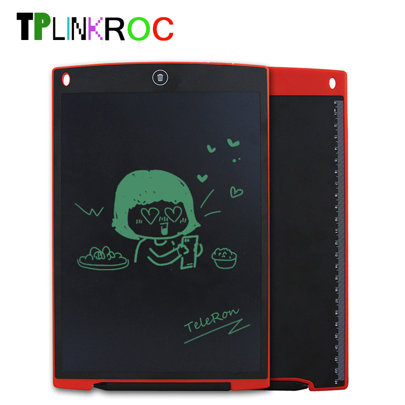 12 Inch LCD Writing Digital Tablets Handwriting Graphic Drawing Pads Portable Electronic Memo Notepads Message Board Kids Gift цена и фото