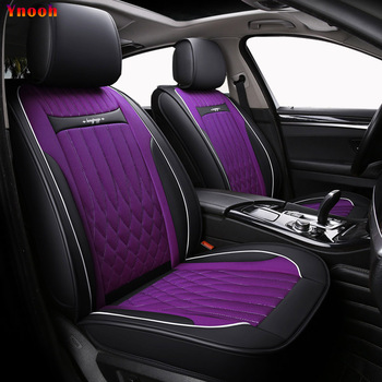 Ynooh car seat cover for renault laguna 2 fluence kadjar scenic 3 logan 2 kangoo symbol latiude cover for vehicle seat