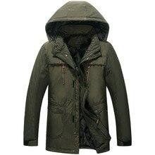 Новый тучных мужчин с капюшоном пуховик зимой пальто куртки плюс size7xl8xl хлопка мягкой одежды, чтобы согреться и высокое качество пальто