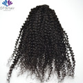 8A Kinky Curly Clip In Human Hair Extensions Natural Hair African American Clip In Human Hair Extensions 120g 7Pcs/set Clip Ins