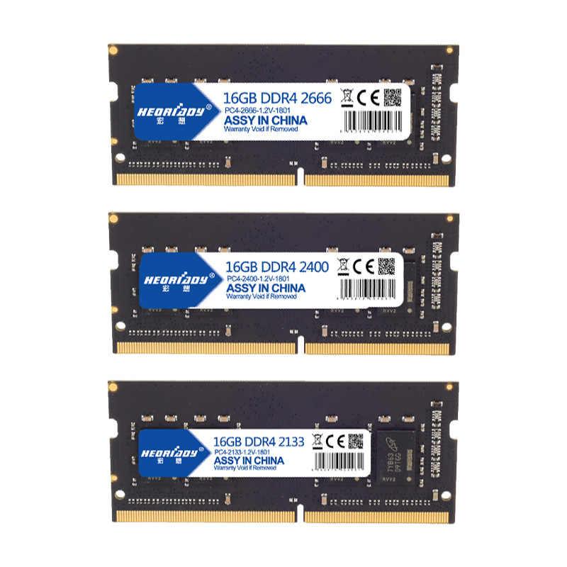 Laptop DDR4 16GB RAM 2666MHz Nhiều lựa chọn 8GB 4GB 2400 Mhz 2133MHz chứa bộ nhớ 4 260Pin 1.2 V