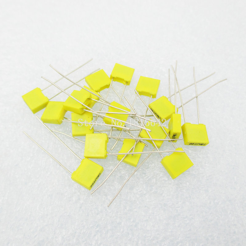 20PCS/LOT Correction Capacitor 154J 150NF 100V Polypropylene Safety Plastic Film Capacitor New