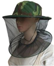 Bug Insect Mosquito Fly Resistance Net Mesh Face Fishing Hunting Outdoor Camping Hiking Hat Protector Cap Camouflage