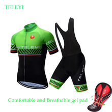 Summer Quick-dry Cycling Jersey Men Short Sleeve Bicycle Clothing 2019 Maillot Road Bike Clothes Male MTB Uniform Wear Skinsuit