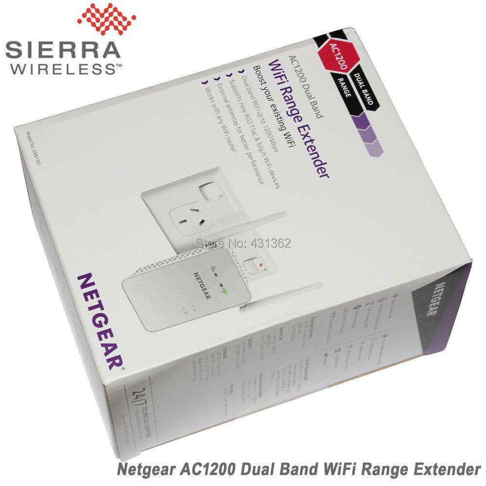 NETGEAR 11AC 1200 Mbps Dual Band Gigabit 802 11ac (300 Mbps + 900 Mbps)  Wi-Fi Range Extender with External Antennas