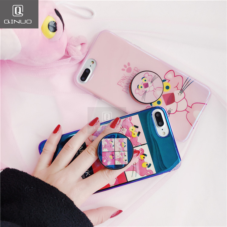 lowest price d5498 52672 US $3.68 20% OFF|QINUO Original Round Phone Flexible Finger Ring Holder  Grip Mount Mobile Case Lazy Stand for Iphone 8 7 6S Plus X Stand Case-in ...