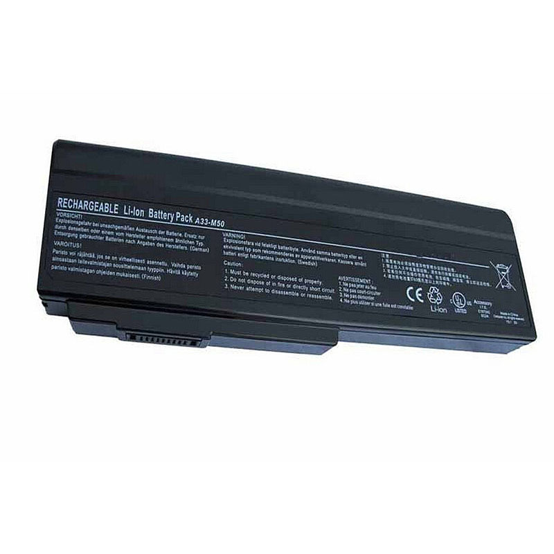 HSW 7800mah 9cell New Replace Laptop Battery A33 M50 For ASUS M50 M50V M50Q M50S M50Sa M50Sr M50Sv M50V M50Vm N43 N53 bateria in Laptop Batteries from Computer Office