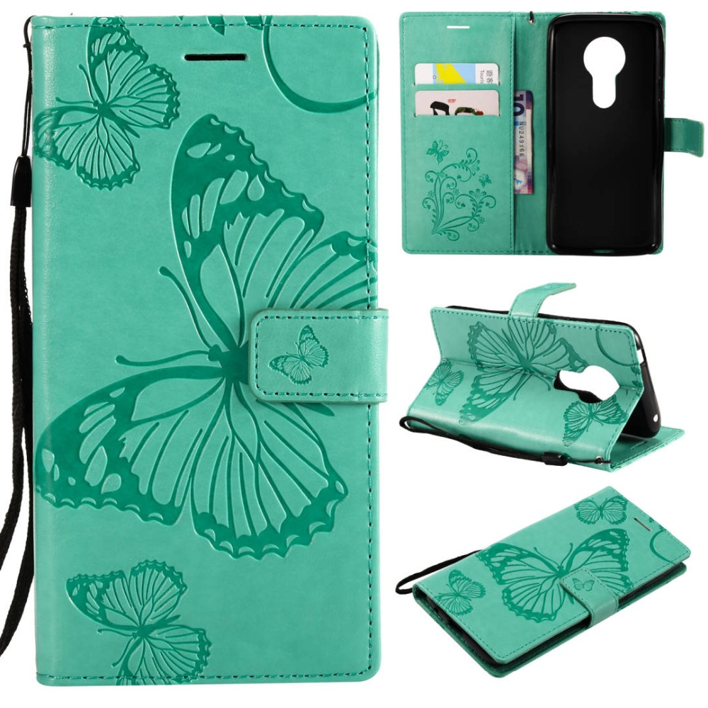 For Moto E5 Leather Case Luxury 3D Butterfly Wallet PU Leather Case For Motorola Moto E5 <font><b>XT1944</b></font>-<font><b>4</b></font> <font><b>Xt1944</b></font>-3 5.7